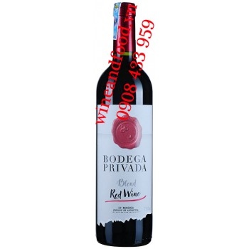 Rượu vang Bodega Privada Blend Red Wine 750ml