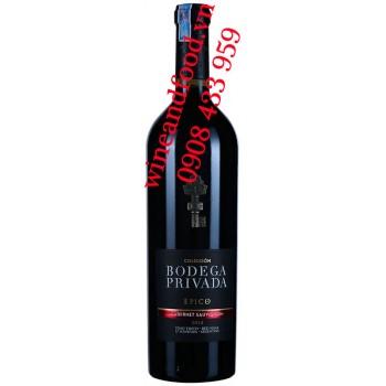Rượu vang Bodega Privada Epico Cabernet Sauvignon 750ml