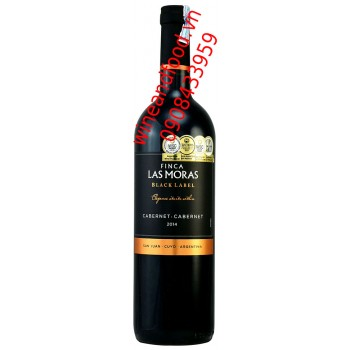 Rượu vang Las Moras Black Label Cabernet 750ml