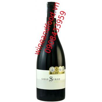 Rượu vang Las Moras Gran Syrah 750ml