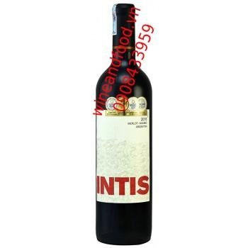 Rượu vang Las Moras Intis Merlot Malbec