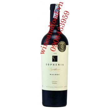 Rượu vang Sophenia Synthesis Malbec 750ml