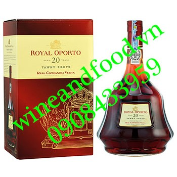 Rượu Porto Royal Oporto 20 năm
