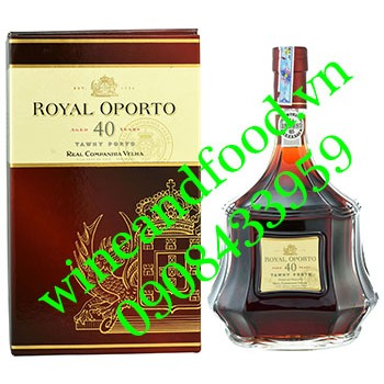 Rượu Porto Royal Oporto 40 năm
