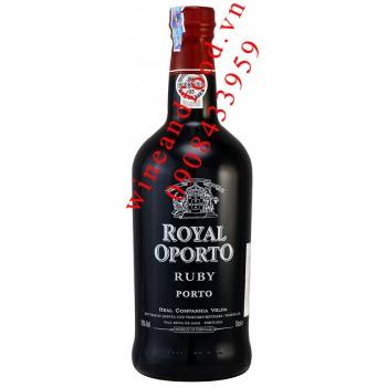 Rượu Porto Royal Oporto Ruby 75cl
