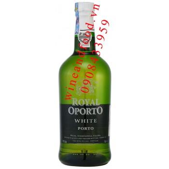 Rượu Porto Royal Oporto White 75cl