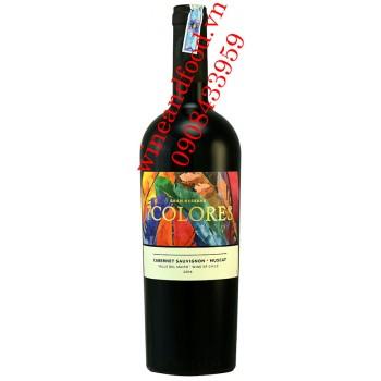 Rượu vang 7 Colores Cabernet Sauvignon Muscat