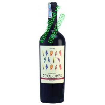 Rượu vang 7 Colores Cabernet Sauvignon Reserva