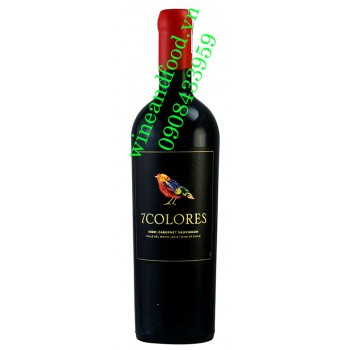 Rượu vang 7 Colores Icon Cabernet Sauvignon