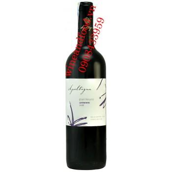 Rượu vang Apaltagua Carmenere Gran Verano