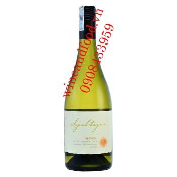 Rượu vang Apaltagua Reserva Chardonnay 750ml