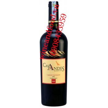 Rượu vang Casa Andes Cabernet Sauvignon 750ml