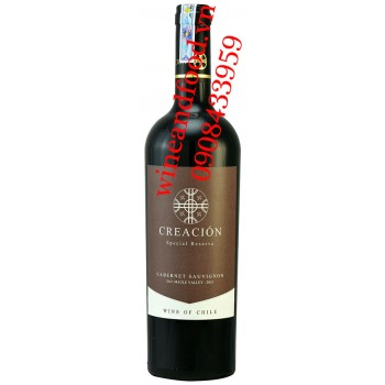 Rượu vang Creacion Reserve Cabernet Sauvignon