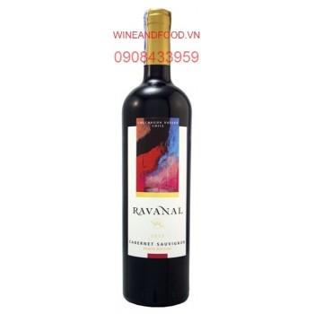 Rượu vang đỏ Ravanal Cabernet Sauvignon 750ml