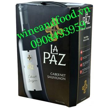 Rượu vang La Paz Cabernet Sauvignon bịch 3l