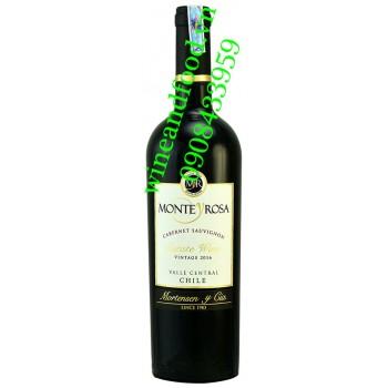 Rượu vang Monte Y Rosa Cabernet Sauvignon 750ml