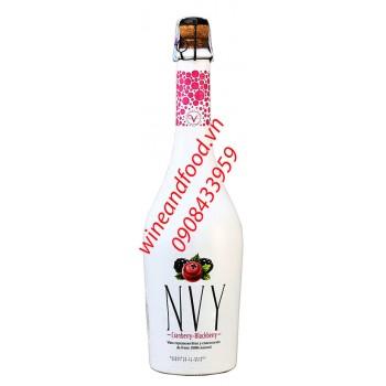 Rượu vang NVY cranberry blackberry nhập từ Chile 750ml
