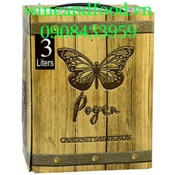 Rượu vang Poyen Cabernet Sauvignon 3l