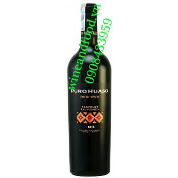 Rượu vang Puro Huaso Reserva Cabernet Sauvignon 750ml