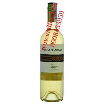 Rượu vang Puro Huaso Sauvignon Blanc trắng 750ml