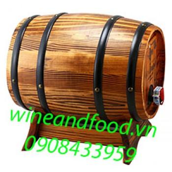 Rượu vang Santa Chilena Merlot trống gỗ 3l