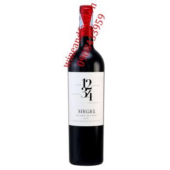 Rượu vang Siegel 1234 Reserva 750ml
