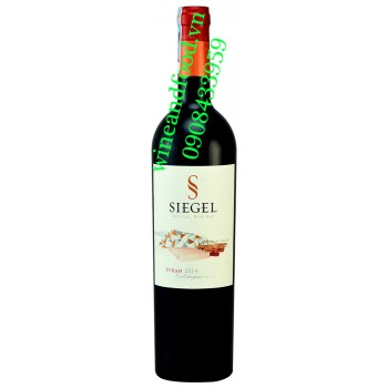 Rượu vang Siegel Special Reserve Syrah 750ml