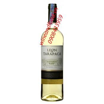 Rượu vang trắng Leon de Tarapaca Sauvignon Blanc
