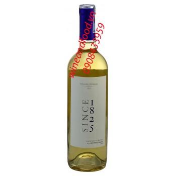 Rượu vang trắng Since 1825 Sauvignon Blanc