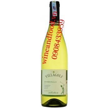 Rượu vang Villagolf Green Selection Chardonnay