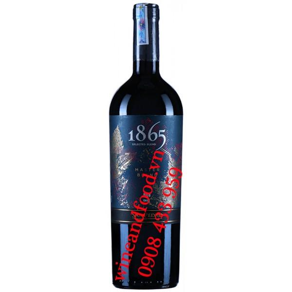 Rượu vang 1865 San Pedro Master Blend 750ml