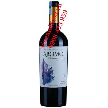Rượu vang Aromo Winemaker's Selection Marselán Carménere 750ml