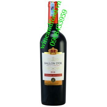 Rượu vang Ballon D'OR Cabernet Sauvignon 750ml