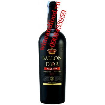 Rượu vang Ballon D'OR Reserva Cabernet Sauvignon 750ml
