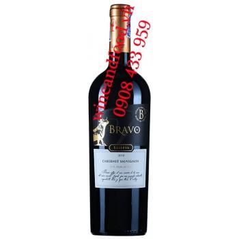 Rượu vang Bravo Cabernet Sauvignon Reserva 750ml