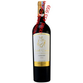 Rượu vang Caballo Dorado Gran Reserva Carmenere 750ml