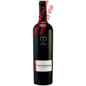 Rượu vang CP Casas Patronales Cabernet Sauvignon Maule Valley 750ml