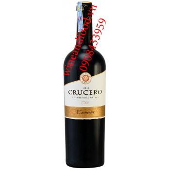 Rượu vang Crucero Carmenere 750ml