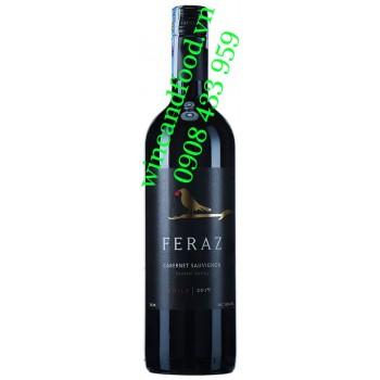 Rượu vang Feraz Cabernet Sauvignon Chile 750ml