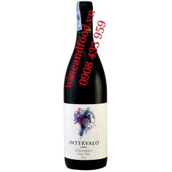 Rượu vang Intervalo Echeverria Syrah 750ml