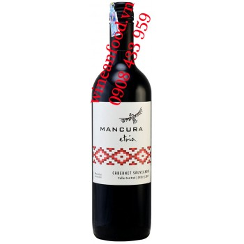 Rượu vang Mancura Etria Cabernet Sauvignon 750ml