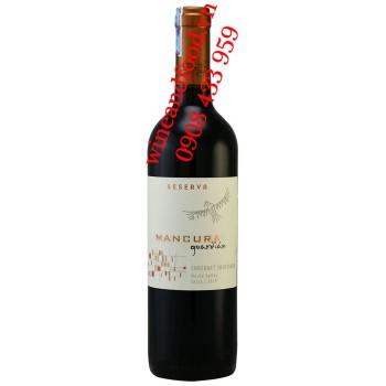 Rượu vang Mancura Guardian Cabernet Sauvignon Reserva 700ml