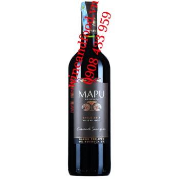 Rượu vang Mapu Cabernet Sauvignon Reserva 750ml