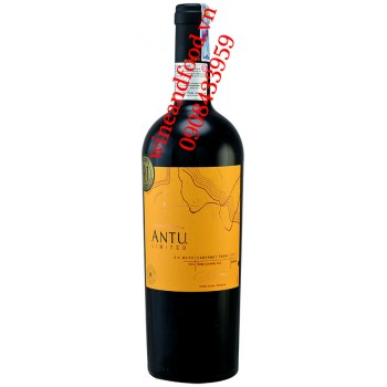 Rượu vang Montgras Antu Cabernet Franc limited 750ml