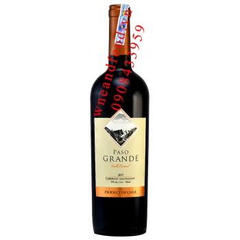 Rượu vang Paso Grande Cabernet Sauvignon 750ml