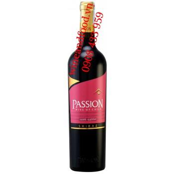 Rượu vang Passion Shiraz 750ml