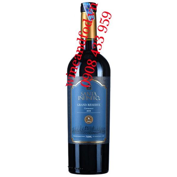 Rượu vang Santa Infinito Grand Reserve Carmenere 750ml