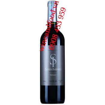 Rượu vang SI Santa Infinito Carmenere 750ml