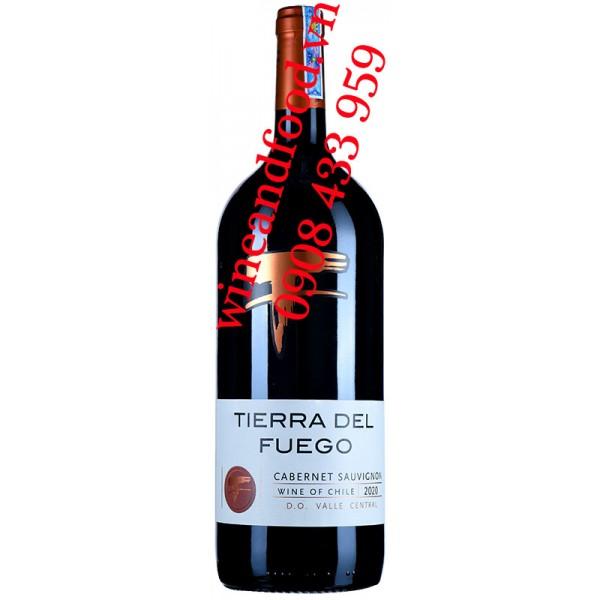 Rượu vang Tierra Del Fuego Cabernet Sauvignon 1500ml