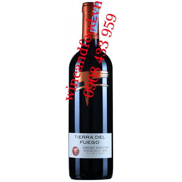 Rượu vang Tierra Del Fuego Cabernet Sauvignon 750ml